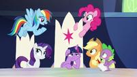 Rainbow Dash -you get big news- S9E1