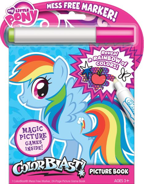 Image - Rainbow Dash colouring book.jpg | My Little Pony Friendship ...