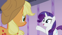 "Rarity ""pick up where we left off"" S6E10"