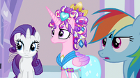 Rarity & Rainbow Dash hear Ms. Peachbottom S3E12