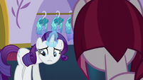 "Rarity disappointed ""yes, of course"" S5E14"