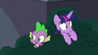 """Spike """"why are we hiding?"""" S9E5"""