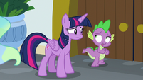 Spike -that's what it is- S8E7