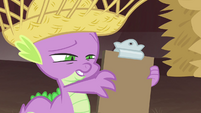 Spike reading -Applejewel- S4E13