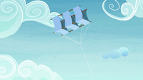 Starlight's kite floating in the sky S7E4