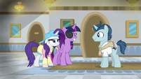 Student 1 appears before Twilight and Rarity S8E16
