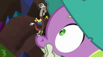 Tiny Discord appears on Garbunkle's nose S6E17
