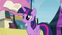 Twilight realizes the books' importance S4E22