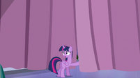 Twilight standing near the Crystalling curtain S6E1