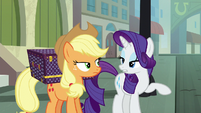 Applejack and Rarity -no moseying- S5E16