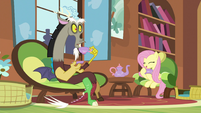 Discord surprised by the mention of Tree Hugger S5E7