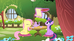 Fluttershy and Twilight S01E17
