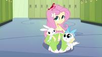 Fluttershy com seus amiginhos 2 EG