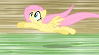 Fluttershy dolphin dive S01E22