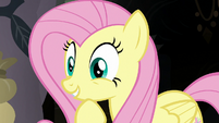 Fluttershy looking very pleased S7E20