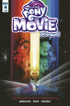 MLP The Movie Prequel issue 4 cover A