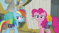 Pinkie -that wasn't very nice- S5E8