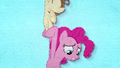 Pound Cake carries Pinkie Pie into the air BFHHS2.png