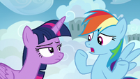 Rainbow Dash --I'm not a student!-- S6E24