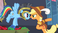 Rainbow Dash and Applejack arguing S2E11.png