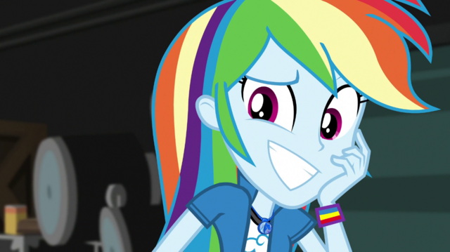 File:Rainbow Dash grins with embarrassment EGS2.png