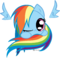 Rainbow dash pony sphere by rontoday2012-d5tso8a