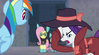 "Rarity ""even if we did find our way"" S9E4"