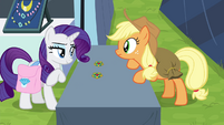 "Rarity ""how can you tell?"" S4E22"