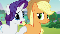 Rarity --Sometimes it's hard to see our friends change-- S5E24
