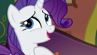 Rarity --only time she could make herself available-- S6E12