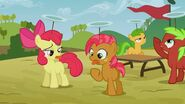S03E08 Apple Bloom i Babs z obolałymi językami