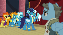 Soarin asks where is Spitfire S5E15