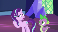 "Starlight Glimmer ""Star Swirl is a great wizard"" S7E26"