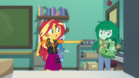 "Sunset Shimmer ""what did I do to you?!"" EGFF"