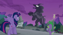 The Pony of Shadows fully forms S7E25