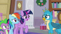 "Twilight Sparkle ""extra friendship lessons"" S8E16"