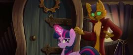Twilight Sparkle refusing Capper's help MLPTM