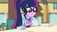 Twilight Sparkle sealing envelopes EGDS22