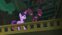 Twilight levitates books off the archives' shelves EGFF