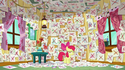 Apple Bloom's walls of failed interests S6E4