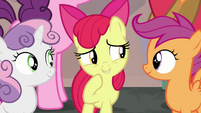 Apple Bloom correcting herself S7E8