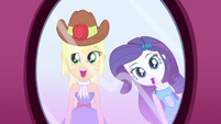 Applejack pleasantly surprised SS1