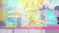 Applejack sliding on the juice bar counter SS9.png