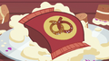 Bag of pretzels on top of Starlight's teacakes S7E2.png