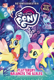 Fluttershy Balances the Scales cover