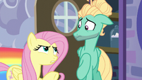 Fluttershy confronting her brother S6E11