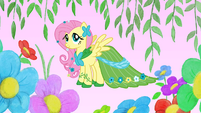 Fluttershy in her gala dress S1E14