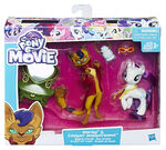 MLP The Movie Rarity & Capper Dapperpaws Styling Friends packaging
