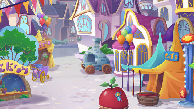 File:MLP The Movie background art - Canterlot plaza.jpg