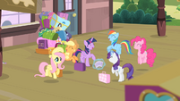 Mane 6 excited S4E08